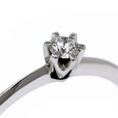 Solitaire ring with diamond CT 0.28 - Emily model